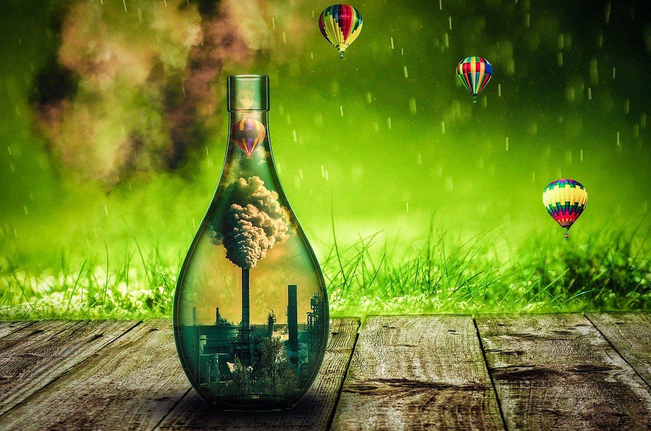 בקבוק אקולוגי